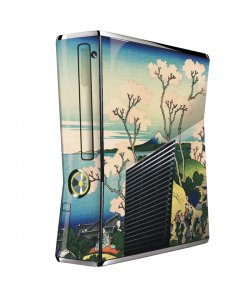 Hokusai - The Fuji from Gotenyama at Shinagawa on the Tokaido - Xbox 360 Slim Skin