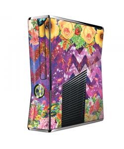Universal Flowers - Xbox 360 Slim Skin