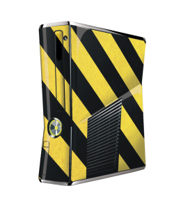 Caution - Xbox 360 Slim Skin