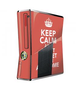 Keep Calm and Be Awesome - Xbox 360 Slim Skin