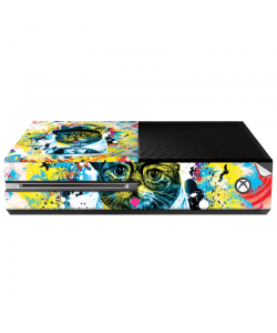 Hipster Meow - Xbox One Consola Skin
