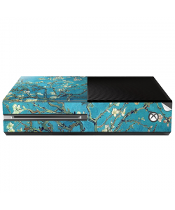 Van Gogh - Branches with Almond Blossom - Xbox One Consola Skin