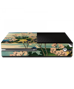 Hokusai - The Fuji from Gotenyama at Shinagawa on the Tokaido - Xbox One Consola Skin