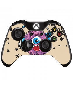 Fluffy Headphones - Xbox One Controller Skin