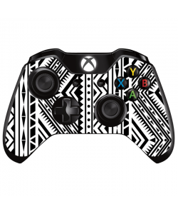 Tribal Black & White - Xbox One Controller Skin