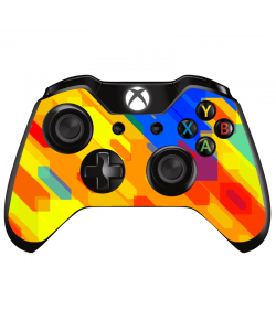 Ruby Slide - Xbox One Controller Skin