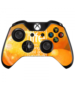 Vodka Orange - Xbox One Controller Skin