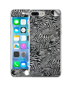 Zebra Pattern - iPhone 7 Plus / iPhone 8 Plus Skin