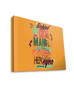 Every Great Man - Canvas Art 75x60