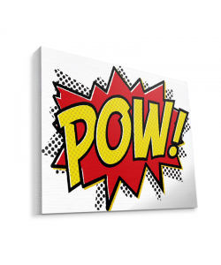 Pow - Canvas Art 75x60
