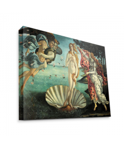 Botticelli - La nascita di Venere - Canvas Art 75x60