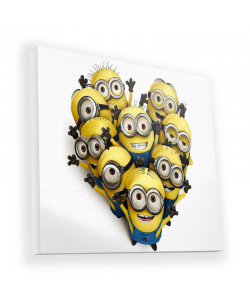 Minions Crew - Canvas Art 90x90