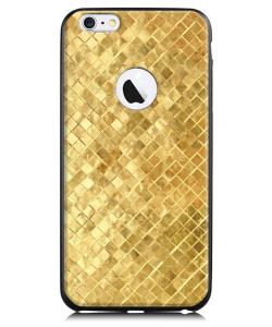 Squares - iPhone 6 Plus Carcasa TPU Premium Neagra