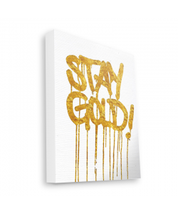 Stay Gold - Canvas Art 35x30