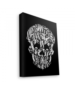 Ribbon Cranium - Canvas Art 60x75