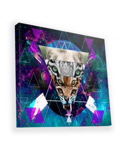 Tiger Swag - Canvas Art 90x90