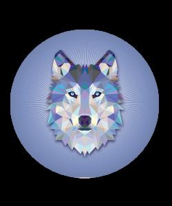Popsocket Origami Wolf, Accesoriu telefon