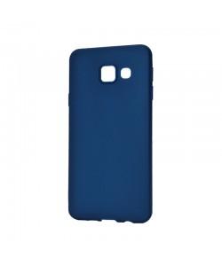 Procell Silky - Samsung Galaxy A3 (2016) Carcasa Silicon Albastru Inchis
