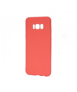 Just Must Candy Red - Samsung Galaxy S8 Plus Carcasa Silicon Rosu