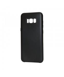 Just Must Moon Black - Samsung Galaxy S8 Plus Carcasa Silicon (flexibil, ultraslim, opac si mat)