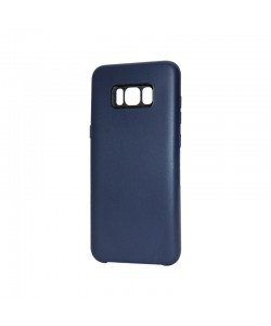 Just Must Moon Navy - Samsung Galaxy S8 Plus Carcasa Silicon (flexibil, ultraslim, opac si mat)