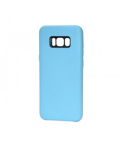 Just Must Moon Blue - Samsung Galaxy S8 Plus Carcasa Silicon (flexibil, ultraslim, opac si mat)