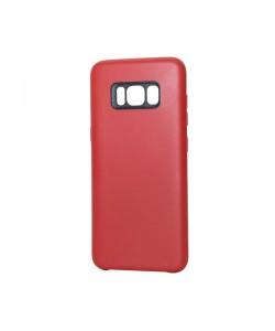 Just Must Moon Red - Samsung Galaxy S8 Plus Carcasa Silicon (flexibil, ultraslim, opac si mat)