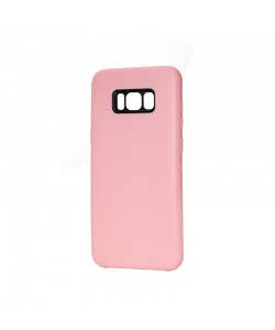 Just Must Moon Pink - Samsung Galaxy S8 Plus Carcasa Silicon (flexibil, ultraslim, opac si mat)