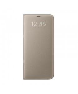 Samsung Book Led View - Samsung Galaxy S8 Plus Husa Book Gold