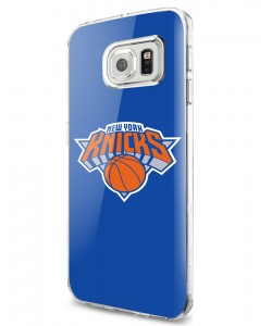 New York Knicks - Samsung Galaxy S7 Edge Carcasa Silicon