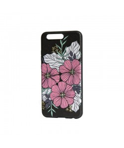 Occa Artist Flower Bloom - Huawei P10 Carcasa PC (3D print cu cristale)