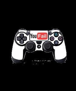 YouFail - PS4 Dualshock Controller Skin