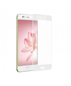 Folie Devia Frame Sticla Temperata White (1 fata Anti-Shock, 9H, 2.5D, 0.26mm) - Huawei P10 Plus