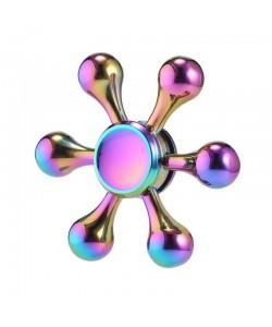 Fidget Spinner Lemontti - Metalic Molecule Rainbow