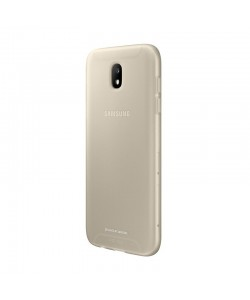 Samsung Jelly Cover Gold - Samsung Galaxy J5 (2017) Carcasa Silicon Aurie