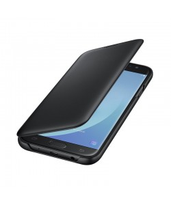 Samsung Wallet Cover Black - Samsung Galaxy J7 (2017) Husa Book Neagra