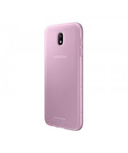 Samsung Jelly Cover Pink - Samsung Galaxy J7 (2017) Carcasa Silicon Roz