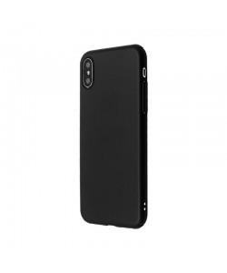 Just Must Uvo - iPhone X Carcasa Plastic Black (material fin la atingere, slim fit)
