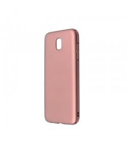 Just Must Uvo Rose Gold - Samsung Galaxy J5 (2017) Carcasa Plastic (material fin la atingere, slim fit)