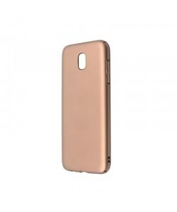 Just Must Uvo Gold - Samsung Galaxy J5 (2017) Carcasa Plastic (material fin la atingere, slim fit)