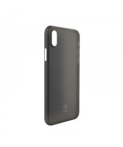 Mcdodo Air Clear Black - iPhone X Carcasa Ultra Slim (0.3mm)