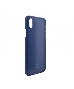 Mcdodo Air Clear Blue - iPhone X Carcasa Ultra Slim (0.3mm)