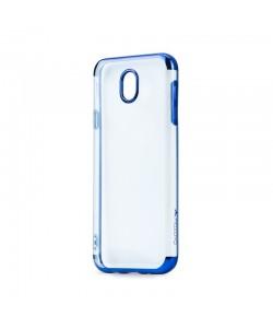 Meleovo Flash Soft II Blue - Samsung Galaxy J5 (2017) Carcasa Silicon