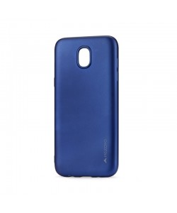 Meleovo Soft Slim Blue - Samsung Galaxy J5 (2017) Carcasa Silicon (aspect mat)