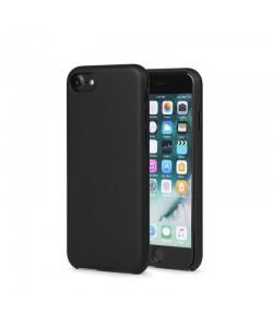 Meleovo Pure Gear II Black - iPhone 8 Carcasa (culoare metalizata fina, interior piele intoarsa)