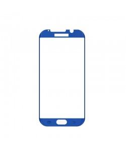 Folie Magic Sticla 3D Case Friendly Blue (0.33mm, 9H) - Samsung Galaxy S7 Edge