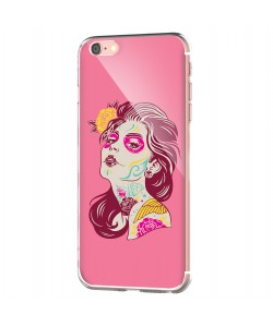 Fabulous Tattoos - iPhone 6 Carcasa Transparenta Silicon
