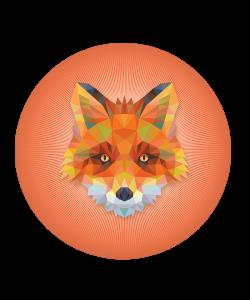 Popsocket Origami Fox, Accesoriu telefon