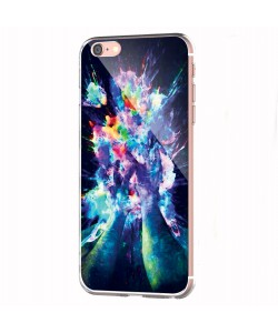 Explosive Thoughts - iPhone 6 Carcasa Transparenta Silicon