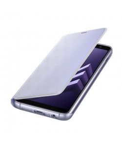 Samsung Neon Cover Orchid Gray - Samsung Galaxy A8 (2018) Husa Flip